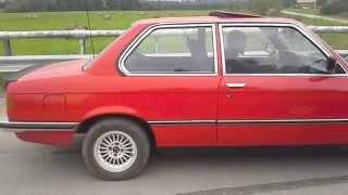 BMW E21 M42 Test run