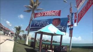 A view from Corozal town, Corozal Disict, Belize