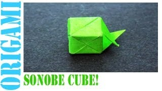 Sonobe Cube For Minecraft Origami: Daily Origami - 497 [TCGames HD]