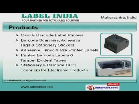 Barcode Equipment and Accessories by Label India, Mumbai
