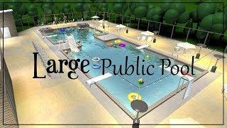 Roblox ? Bloxburg: Gran piscina pública (402k)