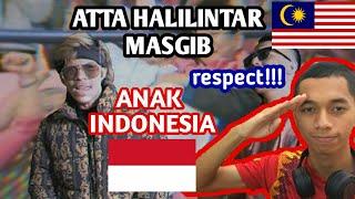 Malaysia Reaction ANAK INDONESIA - ATTA HALILINTAR ft MASGIB   PEMILU DAMAI (Official Lyric Video)