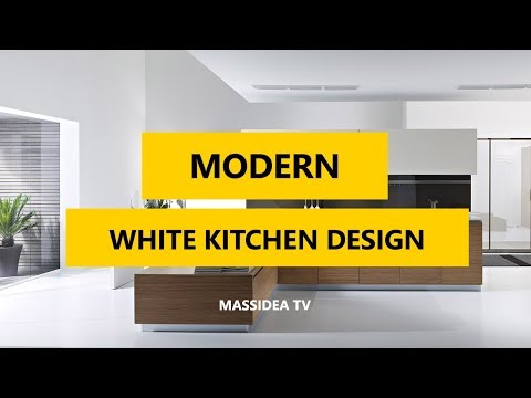35+ Best Modern White Kitchen Design Ideas 2018