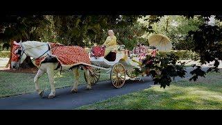 EPIC REVEAL SDE of the Bride & Groom at the Indian Reception - Hyatt Regency Hotel Sacramento