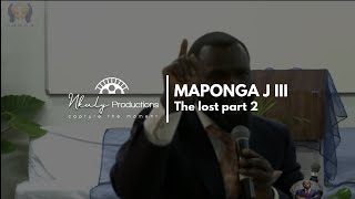 JOSHUA MAPONGA III  THE LOST PART 2