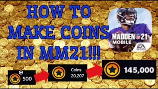 *HOW* TO MAKE COINS IN THE NEW MADDEN MOBILE 21! BEGINNERS GUIDE TO MADDEN MOBILE 21!
