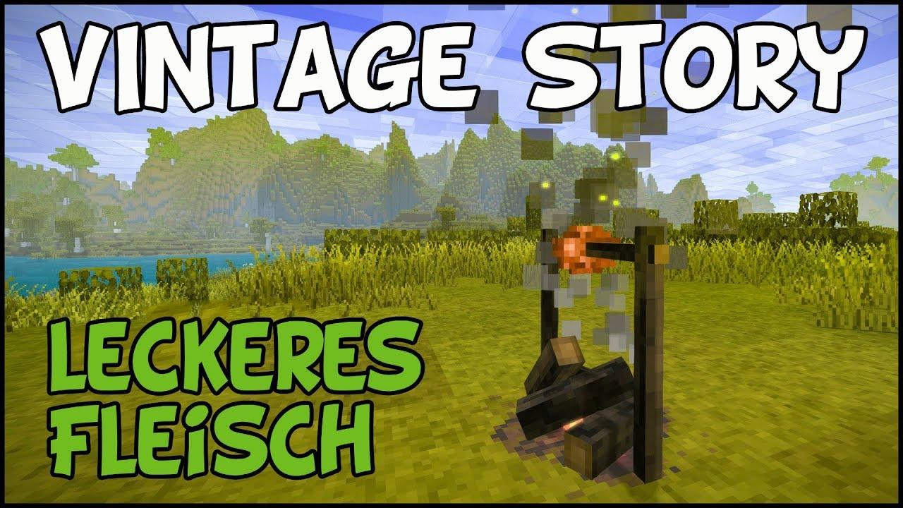 Leckeres Fleisch - Vintage Story #03 [Gameplay Deutsch ...