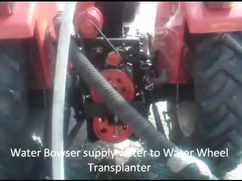 Water Bowser For Water Wheel Transplanter.wmv