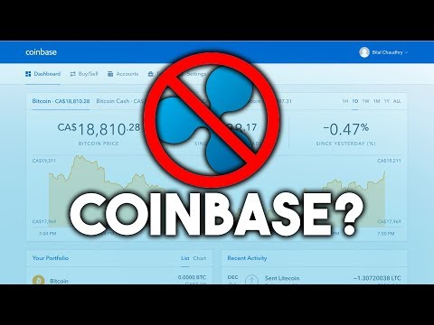 RIPPLE NOT COMING TO COINBASE? - SHOULD YOU PANIC SELL?