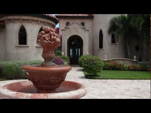 Gated Italian Mediterranean Luxury Intracoastal Home