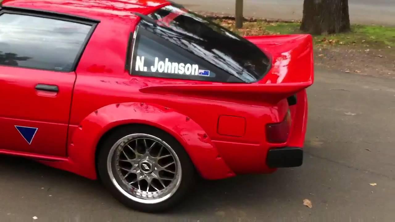 Imsa Wide Body Kit Rx7 >> 12a turbo RX7 - YouTube