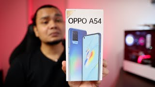 Unboxing Oppo A54: 5000mAh, 18W Fast Charge, & 16MP Selfie (RM599)