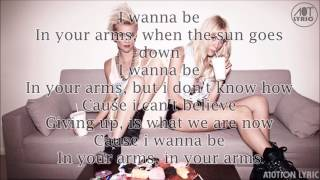 Nervo - In Your Arms (Lyrics)