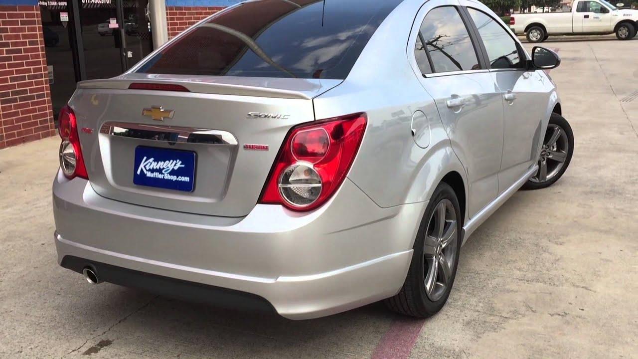 2015 Chevrolet Sonic Rs Turbo Custom Performance Exhaust By Kinneys