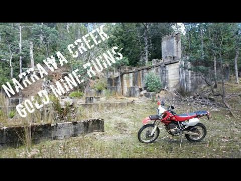Narrawa Creek Gold Mine Ruins | Moina Lake Gairdner Dual Sport Exploration Part 3 of 3