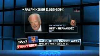Repeat youtube video Keith Hernandez reflects on Ralph Kiner