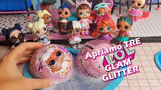È arrivata la MAMMA di Candy! 😱Apriamo 3 LOL Surprise Glam Glitter in piscina [Unboxing]