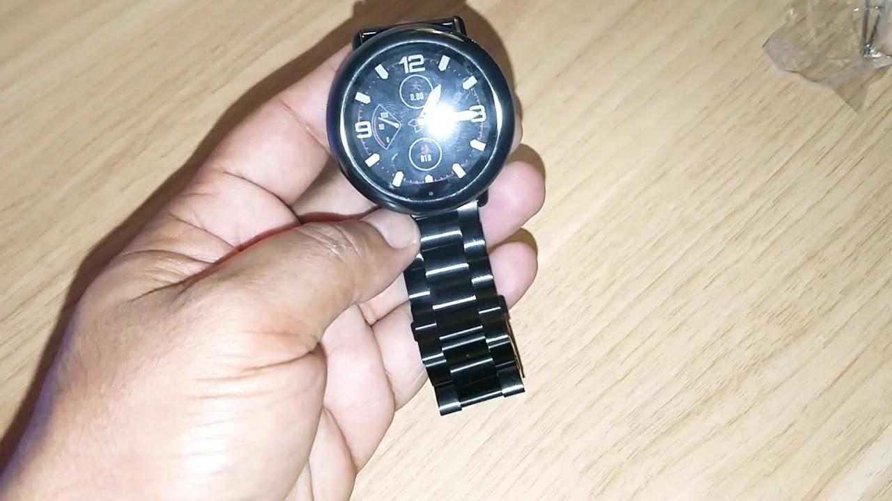 Dark Grey Amazfit Pace Bracelet