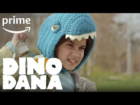 Dino Dana Season 1 - Kentrosaurus vs. Albertosaurus | Amazon Kids