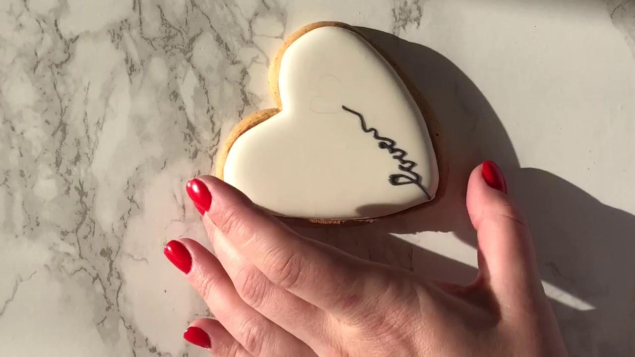 Пряники-сердечки на День Святого Валентина