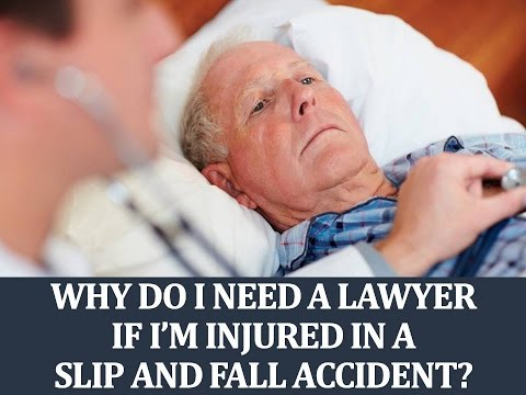 When you're injured in a personal injury accident, you should always consult with an attorney before deciding to handle the case yourself.