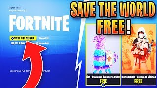 *NEW* Fortnite SAVE THE WORLD FREE GLITCH! *WORKING* LATEST PATCH - (Earn Free VBucks)