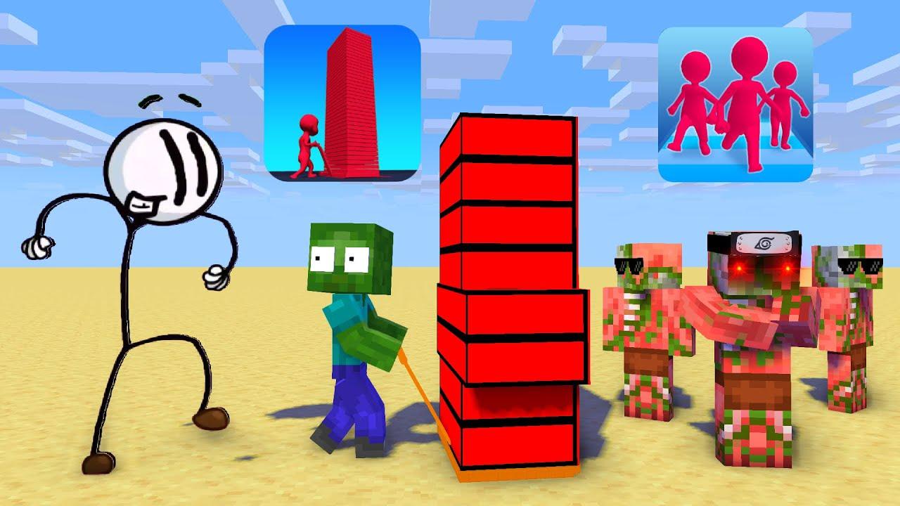 Monster School : Season 18 - Minecraft Animation