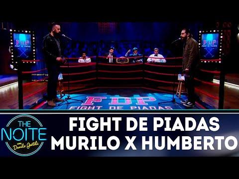 Fight de Piadas: Murilo Moraes x Humberto Rosso - Ep.23 | The Noite (27/08/18)