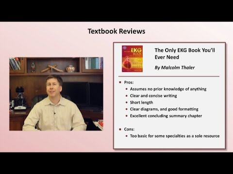 EKG Textbook And Website Review
