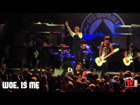 Woe, Is Me - FULL SET! Live! Featuring Kyle Pavone (Scream It Like You Mean It 2012)