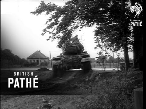 West German Cold War Tanks