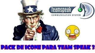 PACK DE ICONES PARA O TEAM SPEAK 3 2017
