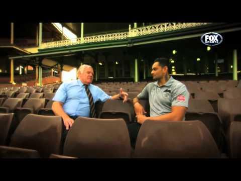 John Sutton talks with Bob McCarthy
