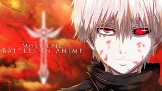 AMV - Most Epic Battles In Anime I 「 FULL MEP 」