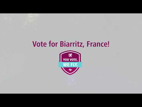 Biarritz - You vote. We fly.