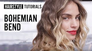 How to style bohemian bend? by Siobhan Jones | L'Oréal Professionnel tutorials