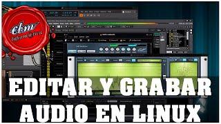 RANKING DE PROGRAMAS PARA EDITAR Y GRABAR AUDIO EN LINUX
