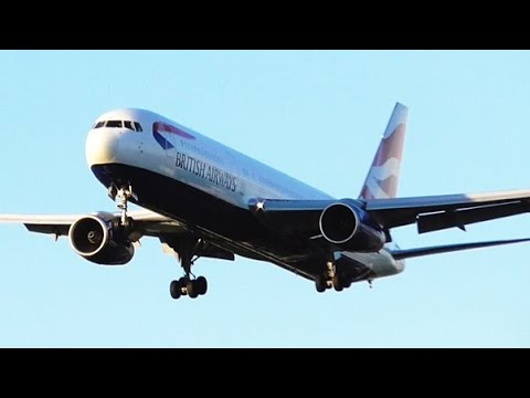 A Glorious Day at London Heathrow Airport | RWY27L Arrivals