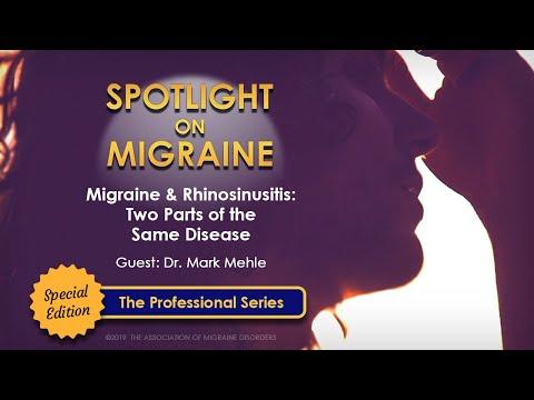 Migraine & Rhinosinusitis: Two Parts of the Same Disease?