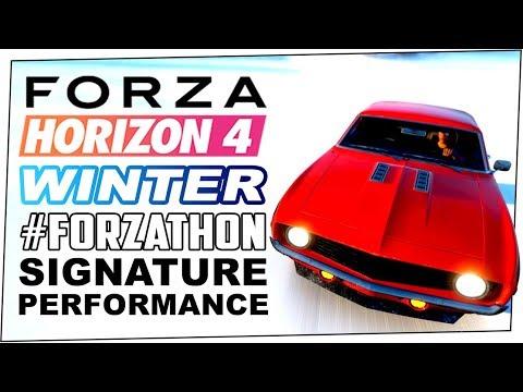 Signature Performance Winter #FORZATHON - FORZA HORIZON 4 - Win Up To 200 #FORZATHON Points thumbnail