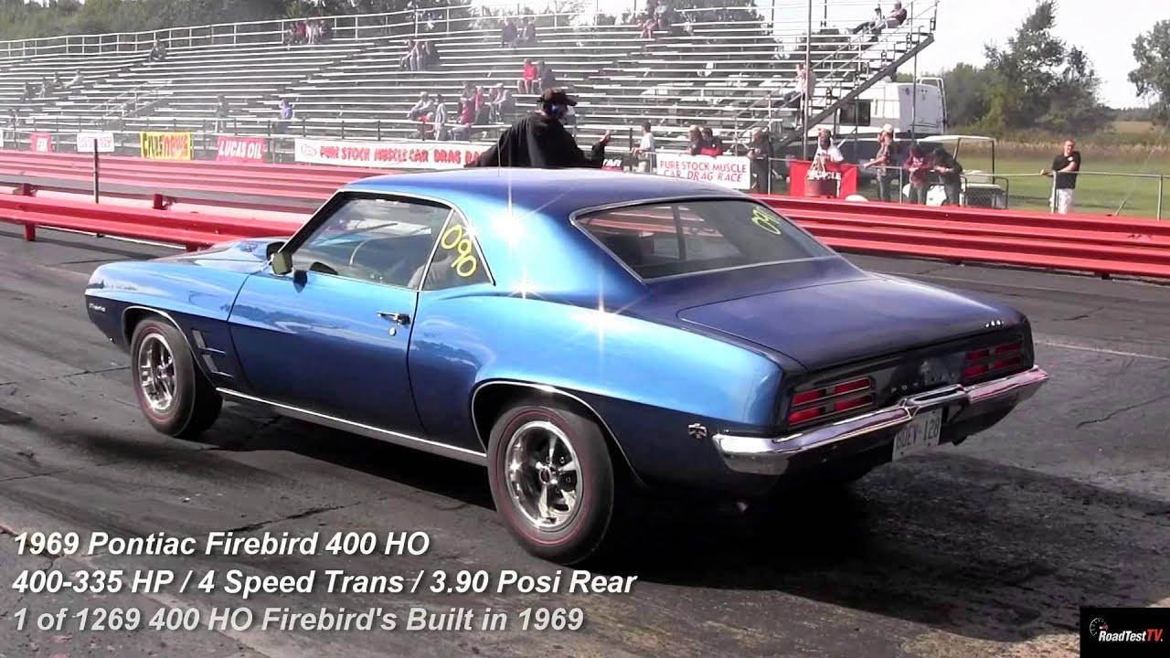 GTO Judge Ram Air III vs Ram Air 400 HO Firebird - 1/4 Mile