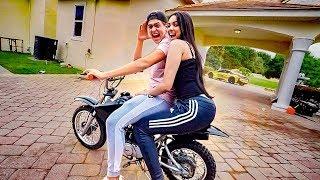 Andando De Motocross  Com A Minha Namorada ‹ Jonvlogs ›
