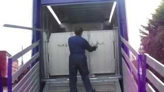 Pezzaioli fixed floor cattle trailer
