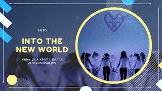 GIRLS' GENERATION - 'INTO THE NEW WORLD' (Ballad Ver) Easy Lyrics (SUB INDO)