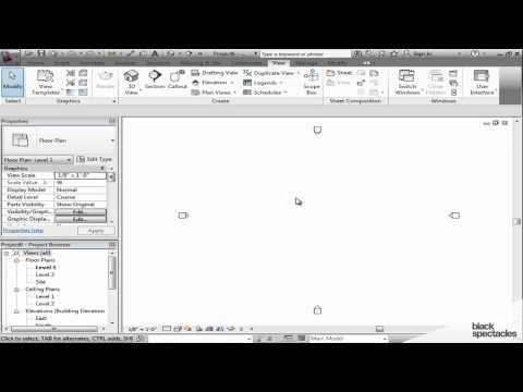 Revit Tutorial: Customizing User Interface Components & Multiple Views | Black Spectacles
