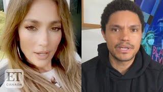 Jennifer Lopez Praises Trevor Noah's BLM Speech