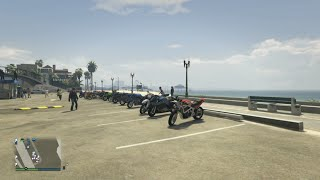 GTA 5 Online (XB1) | Ride Of The Century II | Bike Meet Up, Cruise, Racing, Stunting, & More
