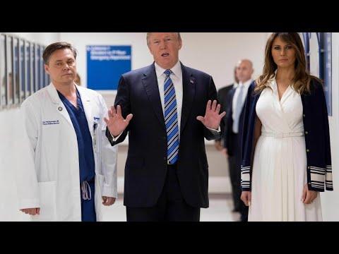 Amoklauf in Florida: Trump besucht Überlebende nach Bluttat