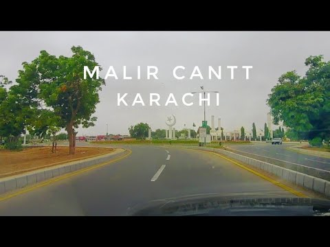 Malir Cantt Karachi Street View 2018 - Expedition Pakistan