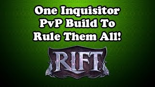 [Rift 3.3] Inquisitor Cleric PvP Guide with Macros (Nightmare Tide)